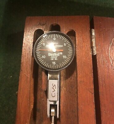 Brown And Sharpe BesTest 7030-5. Dial Test Indicator. .0005. Jeweled.