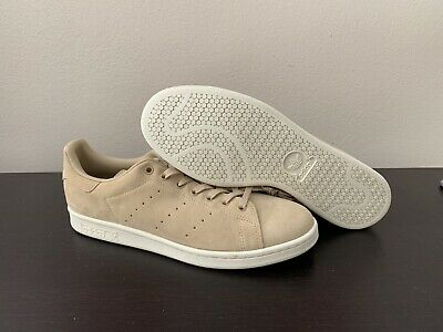9eca555d587377 Adidas Originals Stan Smith Mens Sneakers Shoes Gold Tan Suede Size 12  Bb0039