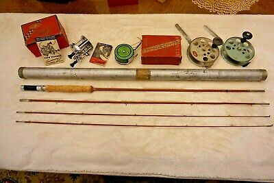 Vintage Phillipson Pacemaker 58 Bamboo Fishing Rod 8 1/2 Foot