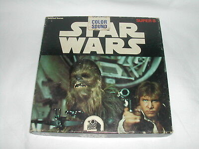 Star Wars Super 8 Film With Colour & Sound Ken Films F48 Selected Scenes 200 Ft