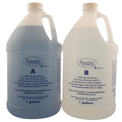 Amazing CLEAR Casting Resin 2 Gallons. - Food Safe