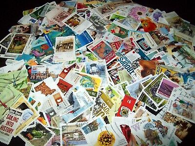 Australian Stamps - Over 300 different - $1.00 to 45c No Defin/Xmas - Used/Bulk