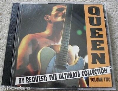 QUEEN Freedie Mercury Brian May Import CD By Request Ultimum Collection Rock Pop