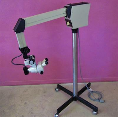 Cryomedics Cabot 3001N Nikon SMZ-1 Zoom Colposcope Surgical Microscope & Stand
