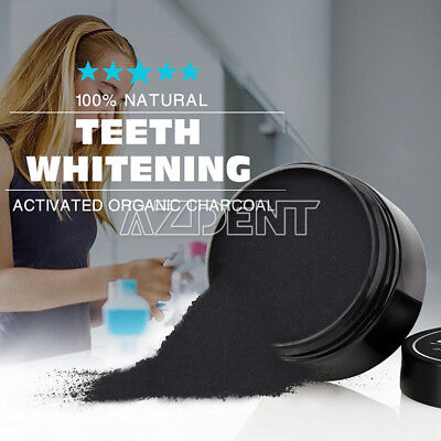 USPS Teeth Whitening Powder Natural Activated Organic Charcoal Toothpaste Powder