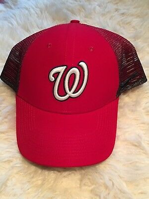 d4066eec ... authentic best washington nationals baseball nike mlb mesh ombré  trucker hat new 7f3c2 8b9a5 ceb28 a982f
