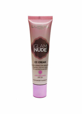 L'Oreal Paris Glam Nude CC Cream Anti-Dullness SPF20 30ml