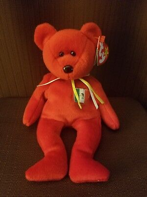 Osito Bear TY Beanie Baby RARE (1999) New W/tags Retired