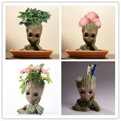 Baby Groot Flowerpot Groot Figure Pen Toy Gift Guardians of The Galaxy For Kids