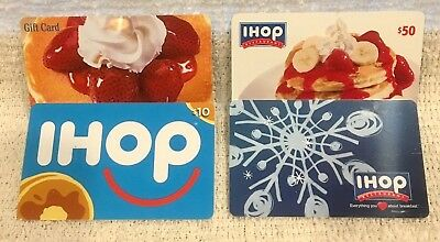 IHOP International House of Pancakes Gift Cards - Collectible Only - Your Choice