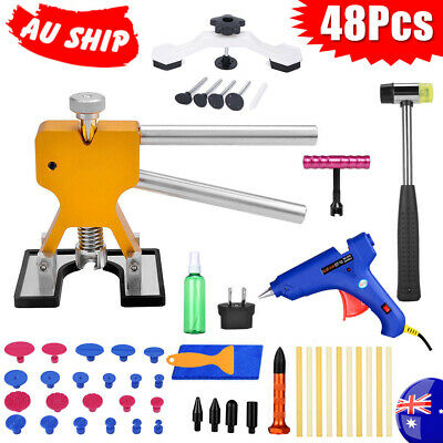 48 PDR Dent Puller Lifter Hail Paintless Removal Tools Car Board Glue Gun Repair