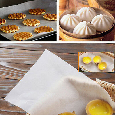 Silicone Paper Greaseproof Paper Sheets Liners Baking Non-stick Parchment YI