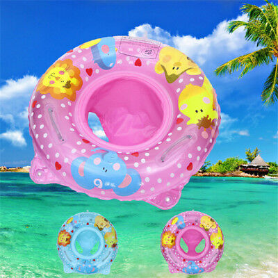 Baby Seat Boat Inflatable Ring Aid Safety Swim Pool Water Ring Toys YI