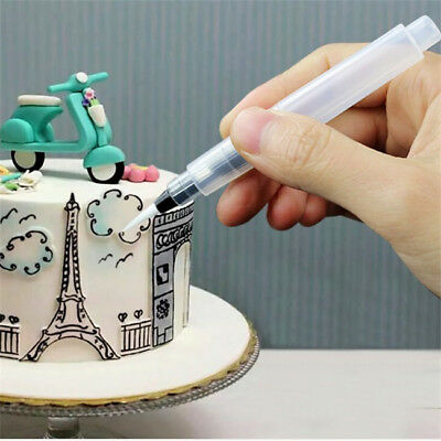 Cream Icing Piping Nozzles Pen Kit Pastry DIY Cake Decorating Supplies Tool YI