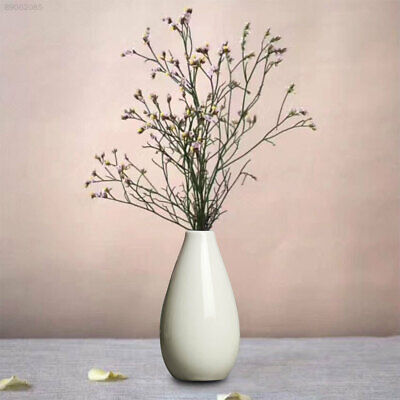 810D Mini Vase Pottery Flower Pot Smooth Ceramic Plant Office Home Decoration