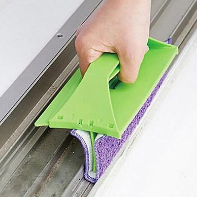 Windshield Window Auto Car House Window Glass Wiper Cleaner Pad Microfibre YI