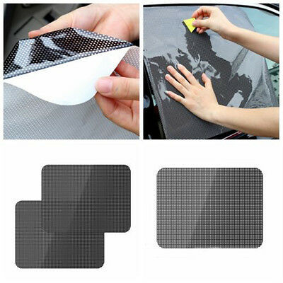 Car Rear Window Side Sun Shade Cover Block Static Cling Visor Shield Screen Uk
