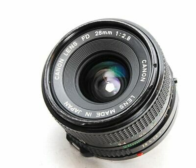 Canon New FD 28mm F2.8 MF Lens Japan #1006