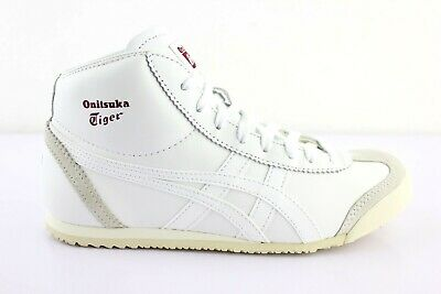 outlet store 6ac29 e41bf ASICS ONITSUKA TIGER Mexico mid Runner Unisex Sneakers High Lace up White