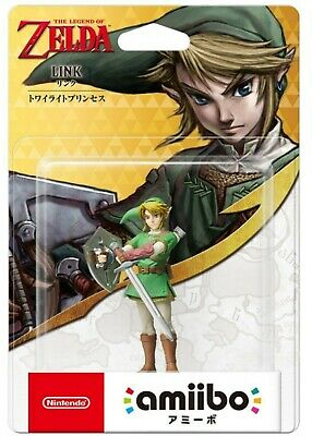 Amiibo The Legend of Zelda Series Figure (Link) [Twilight Princess] Japan NEW