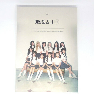 [No Photocard]Monthly Girl - Loona Limited A ver CD+Photobook Kpop