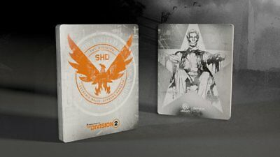 The Division 2 steelbook (NO GAME)