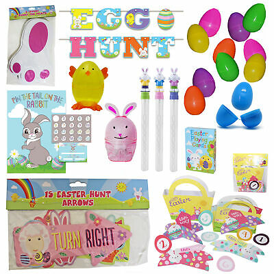 Easter Egg Hunt Accessories and Games - Choose Design