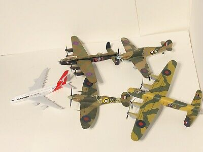 Job Lot Of 5 Airplanes Collection Edition WW2 Die cast Airplanes Collectible