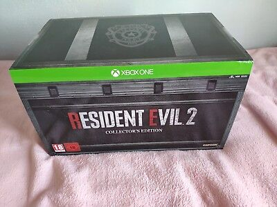 Resident Evil 2 Collector's Edition Xbox One #  Pal Francia #