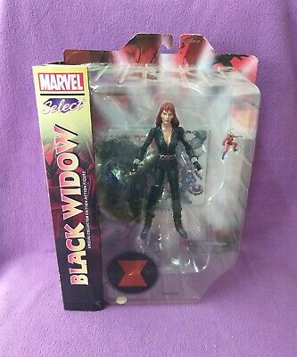 Action Figure Marvel Select Black Widow Diamond Toys Sealed