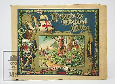 1930's History of Christopher Columbus Spanish Trading Cards Complete Album