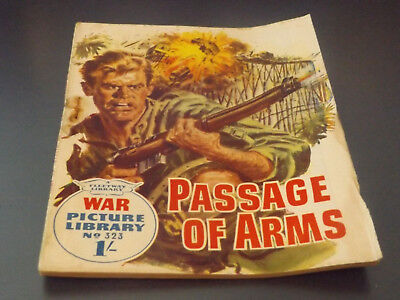 WAR PICTURE LIBRARY NO 323 !,dated 1966 !,GOOD for age,great 53 !YEAR OLD issue.