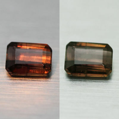 0.71Cts  Unique 100% Natural' Dancing Color Change Axinite Rare Gem Aaa !!!!
