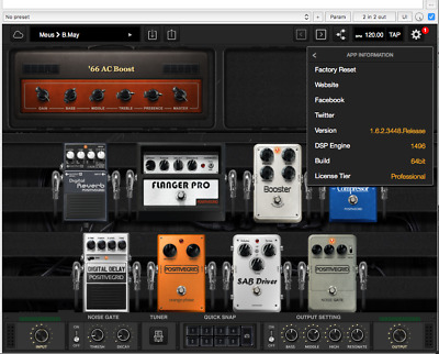 Positive Grid BIAS FX PRO 1.6 Mac - Full working, digital download OS X - WIN