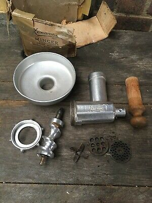Vintage Kenwood A716 Mincer Attachment for Chef/Food Mixers Model A700 A706