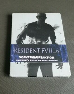 Resident Evil 6 Steelbook Limited Edition Playstation 3 PS3 NEU SEALED 1 2 4 5 7