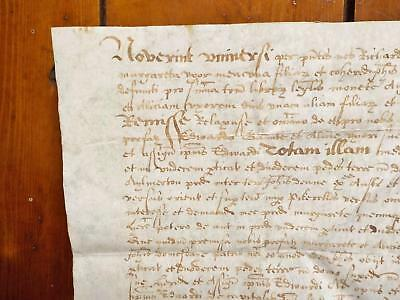 1613 ? Aylemerton Norfolk 17th century Latin Vellum Deed Document