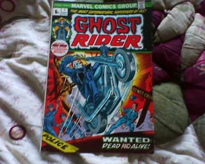 GHOST RIDER 1 1st SERIES & FREE HELLIUM BALLOON AMERICAN COMIC BY MARVEL