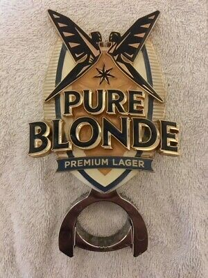 Beer Tap Decal Pure Blonde Premium with Mount Metal Badge Top Free Postage!