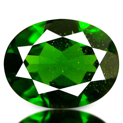 1.99 Cts Magnificent Gem ! Stunning Fire 100% Natural Russian Chrome Diopside