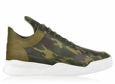 32317cafc2957 Filling Pieces Scarpe Uomo Ghost Camo Low Top Sneakers Handmade In Portugal