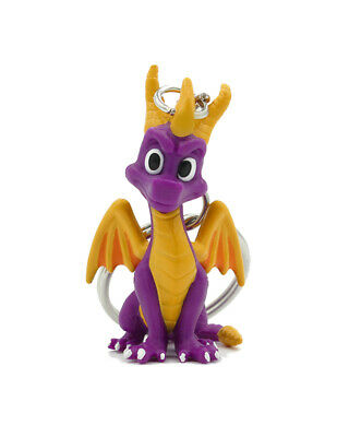 SPYRO THE DRAGON STANCE RUBBER KEYRING NEW OFFICIAL MERCHANDISE PYRAMID