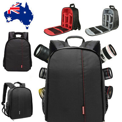 DSLR SLR Camera Case Backpack Photo Bags Shockproof Waterproof for Canon EOS