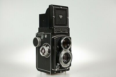 Rolleicord V EXC++ with Pro CLA and original leather case