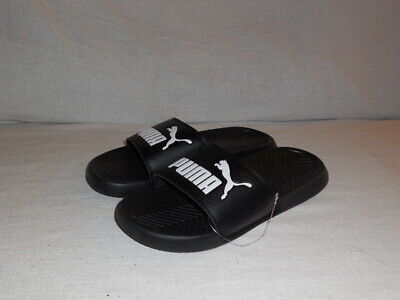 PUMA SLIDE POPCAT 360265-10 Black Slippers Mens SIZE 7 M -  14.99 ... e1f97924b