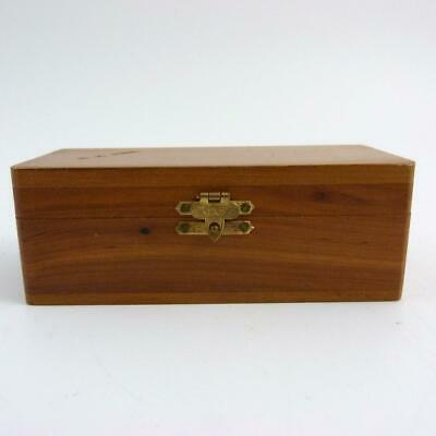 Vintage Wooden Box Stamped E.r. Neal