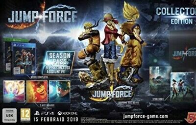 JUMP FORCE COLLECTOR' S EDITION PS4-Nuovo-DLC In Omaggio