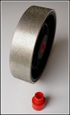 "TOP 8"" grit 600 lapidary diamond cabbing polishing grinding wheel 600grit"