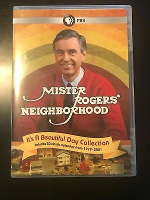 Mr. Rogers It's A Beautiful Day Collection, Sealed, 4-Disc Set
