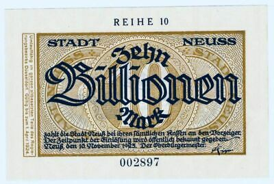 Neuss  10 Billion Mark  R10   -RR-